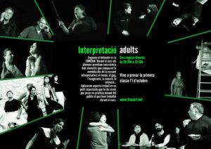 Curs nivell 2 interpretació (adults) @ Tracart | Vilanova i la Geltrú | Catalunya | Espanya